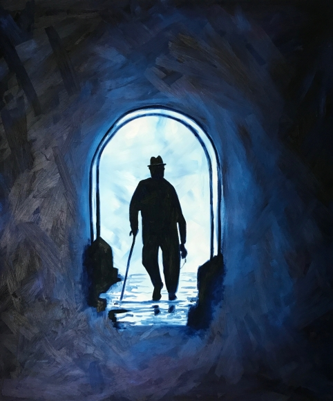 """Wise man in Tunnel"""
