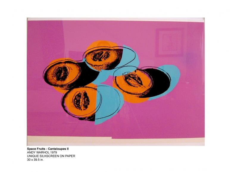 Space Fruits Cantaloupes 1 - Warhol