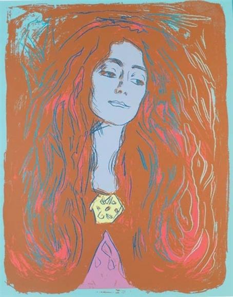 Eva Mudocci (After Munch)