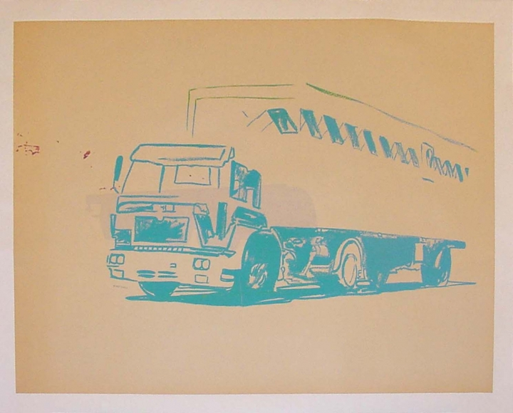Mac Truck - Warhol