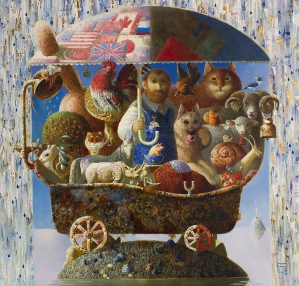 Anna Berezovskaya_Noah's Ark