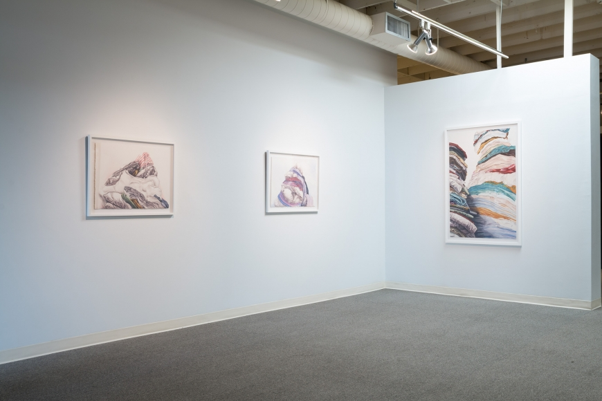 New Views 2016 Amory Abbott Bethany Hays Christopher Russell Installation view 10