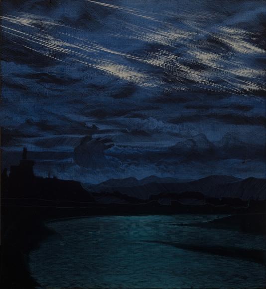 Stotik - nighttime river scene