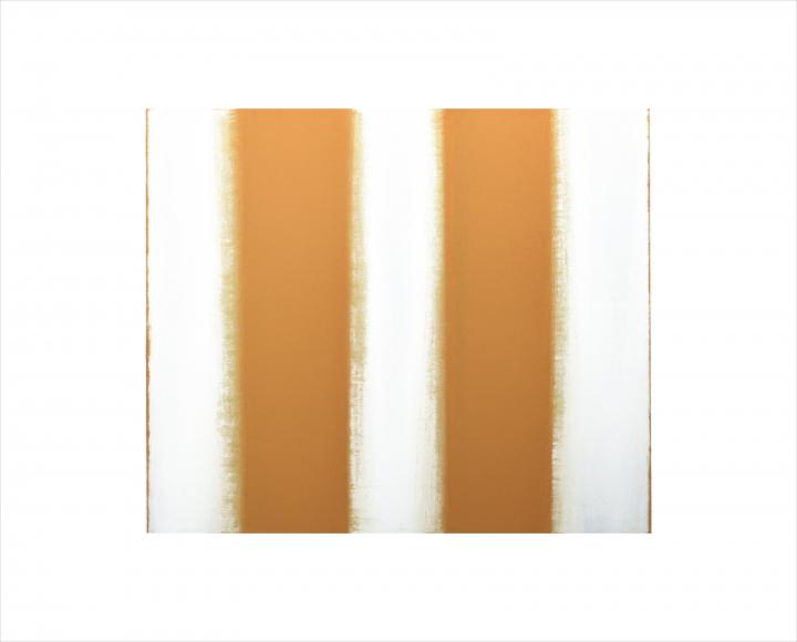 Merken - Stripes, Orange