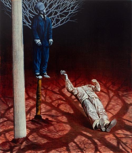 Untitled LR223 (Tree and Torso)
