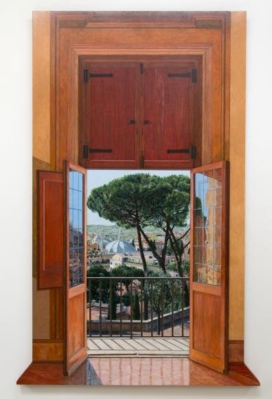 Tom Fawkes - Porta - Villa Medici - Roma