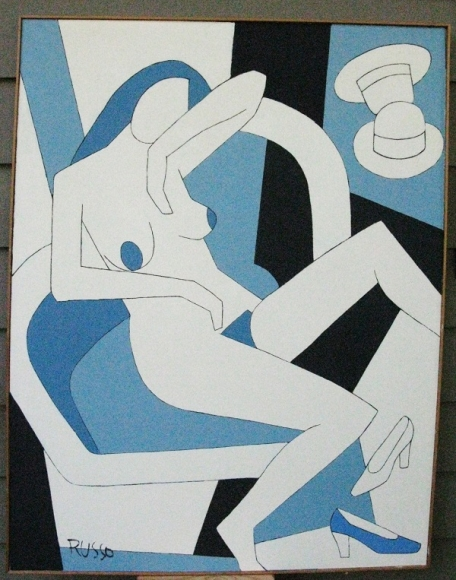 Russo - Blue Nude