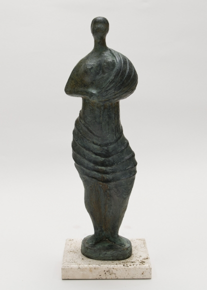 Standing Woman with Child