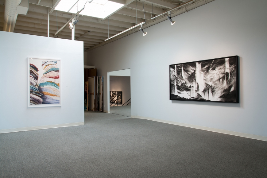 New Views 2016 Amory Abbott Bethany Hays Christopher Russell Installation view 09