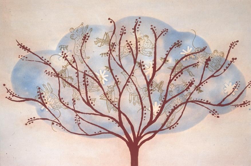 Blue, Critter, Tree (5/35)