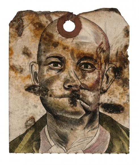 Stotik - bald man crooked nose