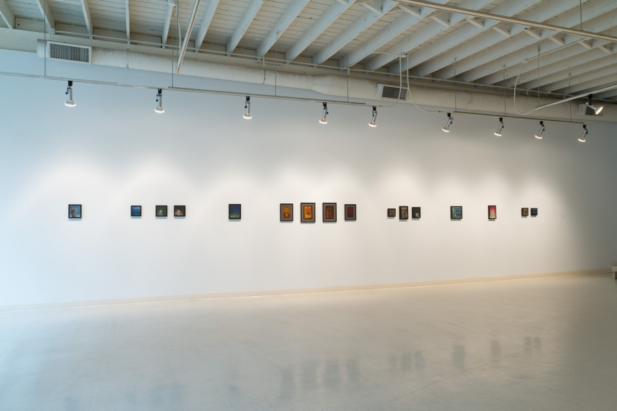 Eric Stotik installation view February 2017