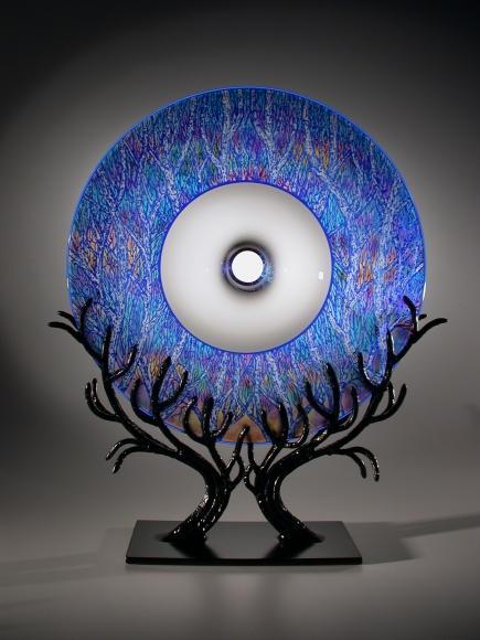 Schwarz - Tree Portal in Blue