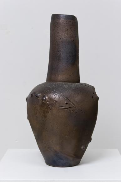 Irridescent Fish Vase