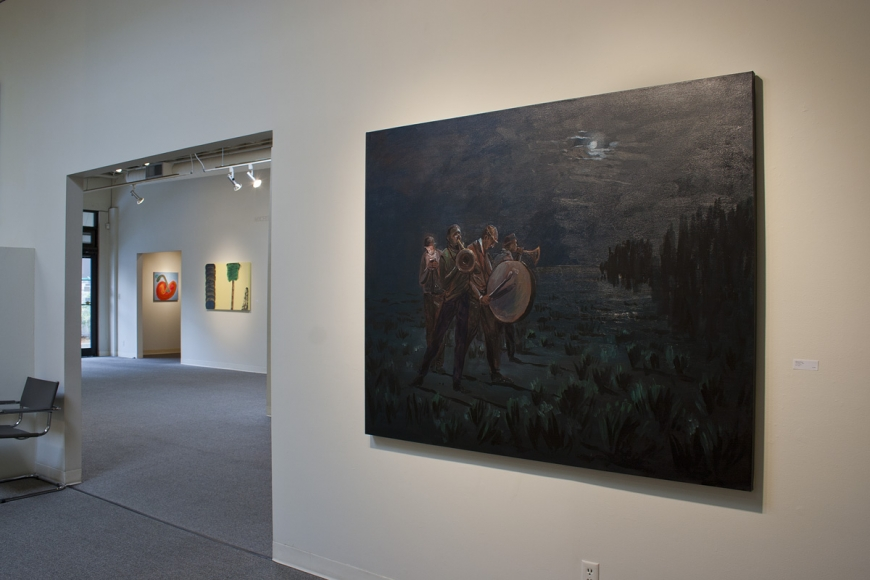 Michael Brophy paintings at Laura Russo Gallery April 2012