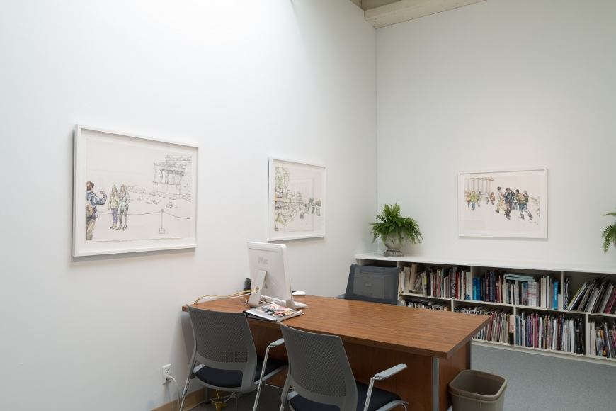 Ramin installation view May 2017 the office