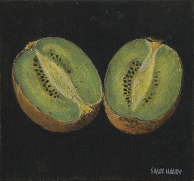 Sally Haley - Kiwi on Black