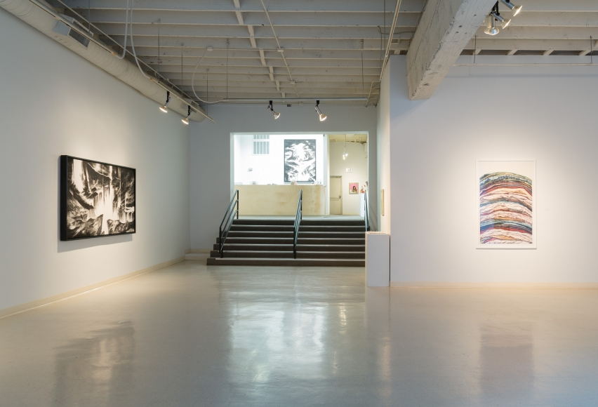New Views 2016 Amory Abbott Bethany Hays Christopher Russell Installation view 04