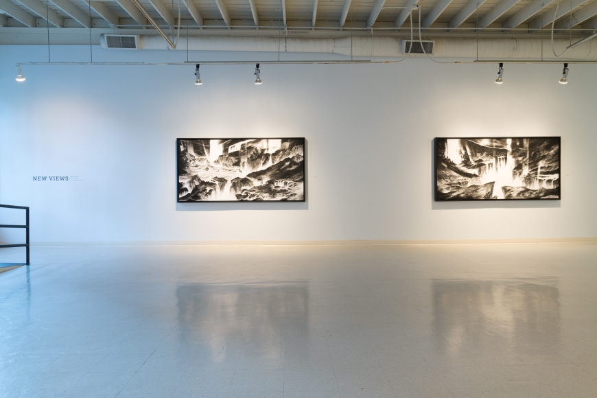 New Views 2016 Amory Abbott Bethany Hays Christopher Russell Installation view 02