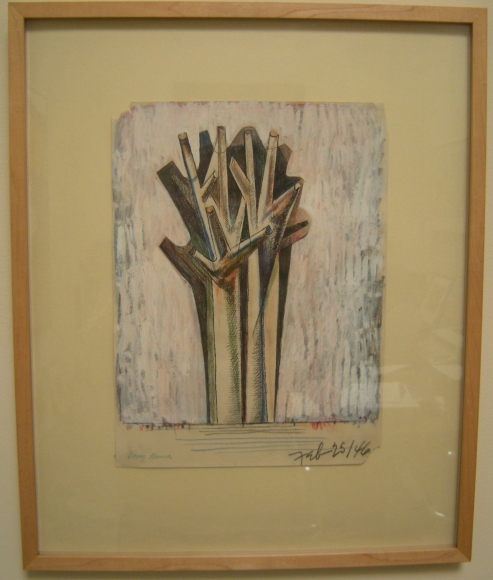 Untitled (Feb. 25, 1946) (Tree Form)