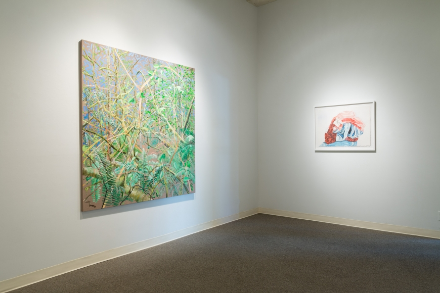 New Views 2016 Amory Abbott Bethany Hays Christopher Russell Installation view 11
