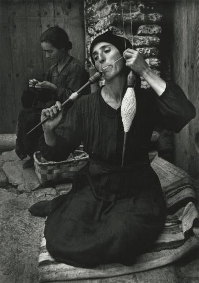 W. Eugene Smith - The Spinner, 1950 - Howard Greenberg Gallery