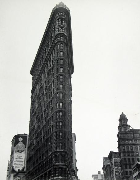 Berenice Abbott - Flatiron Building, Madison Square - Howard Greenberg Gallery