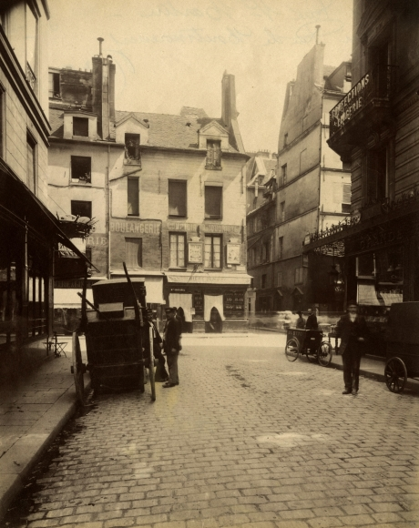 Eugene Atget - 214 Rue St Martin coui Rue de Montmorency - Howard Greenberg Gallery