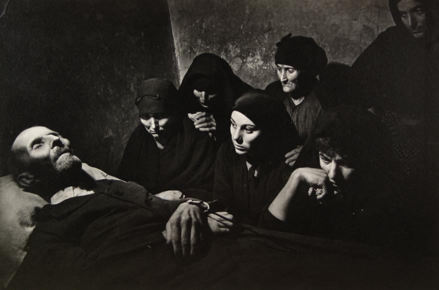 W. Eugene Smith - Spanish Wake, 1951 - Howard Greenberg Gallery
