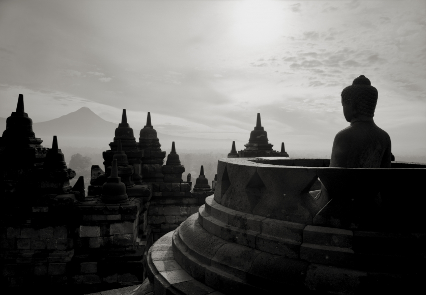 Kenro Izu - Borobudur #15, Indonesia, 1996 - Howard Greenberg Gallery