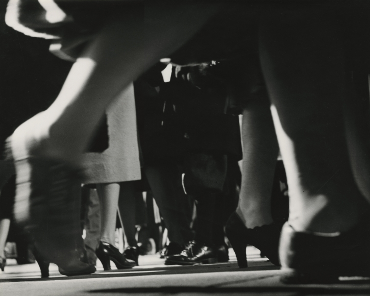 Lisette Model - Running Legs, 42nd Street, New York, c.1940 - Howard Greenberg Gallery