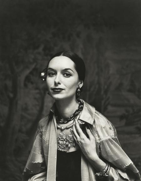 Gordon Parks - Spanish Fashions by Tina Leser, New York, NY, 1950 - Howard Greenberg Gallery