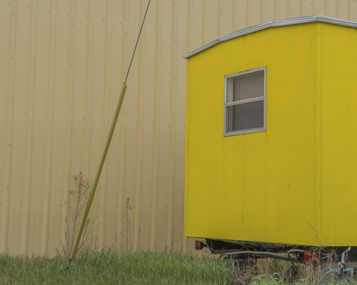 "Willis ""Buzz"" Hartshorn - Yellow Trailer, 2013 - Howard Greenberg Gallery"