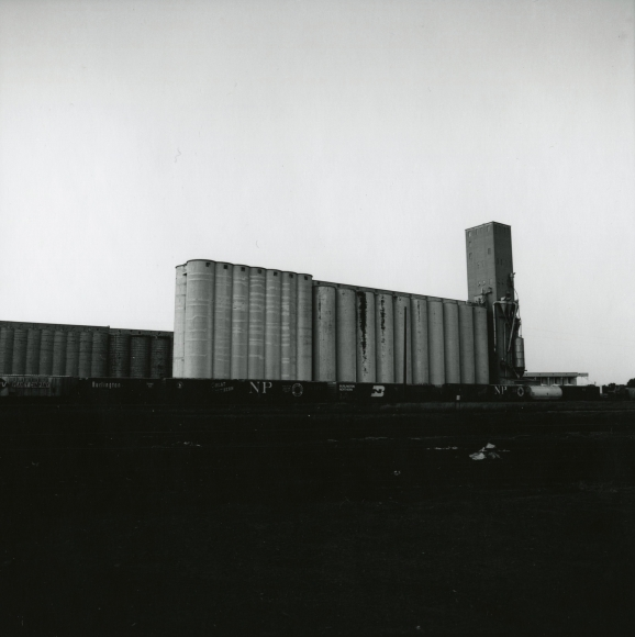 Frank Gohlke - Grain Elevators - Minneapolis - Series I, #20, 1973 - Howard Greenberg Gallery