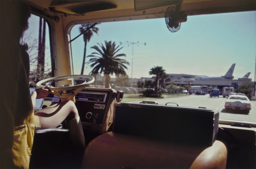 Joel Meyerowitz - Los Angeles Airport, California, 1974 - Howard Greenberg Gallery