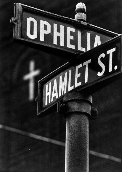 W. Eugene Smith - Ophelia and Hamlet Streets, Pittsburgh, c.1955 - Howard Greenberg Gallery