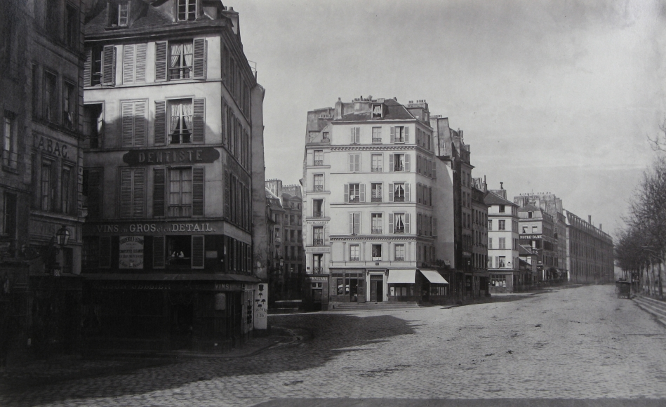 Charles Marville - Quai de Montebello, c.1865 - Howard Greenberg Gallery