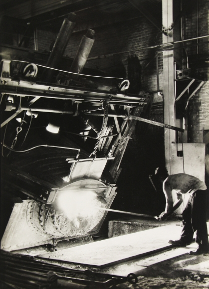 Margaret Bourke-White - Ludlum Steel Company, c.1930 - Howard Greenberg Gallery
