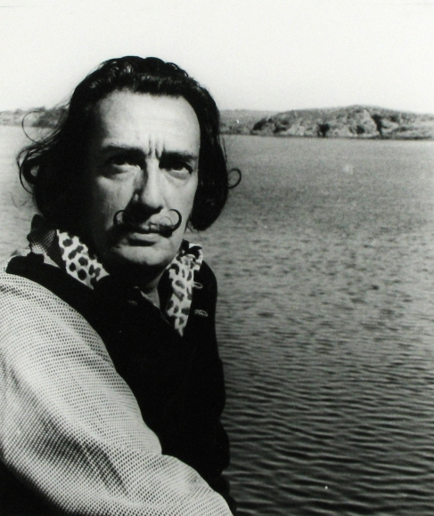 Bill Brandt - Salvador Dali, 1957 - Howard Greenberg Gallery