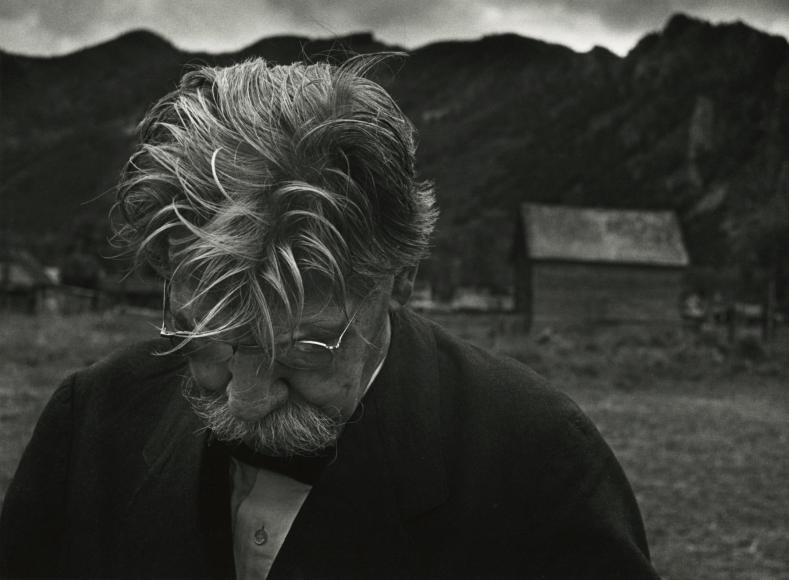 W. Eugene Smith - Dr. Albert Schweitzer, Aspen, Colorado, 1949 - Howard Greenberg Gallery