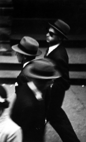 Saul Leiter - Hats, c.1948 - Howard Greenberg Gallery
