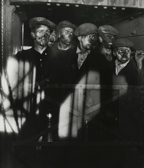 Bill Brandt - Miners Returning to Daylight, 1933 - Howard Greenberg Gallery