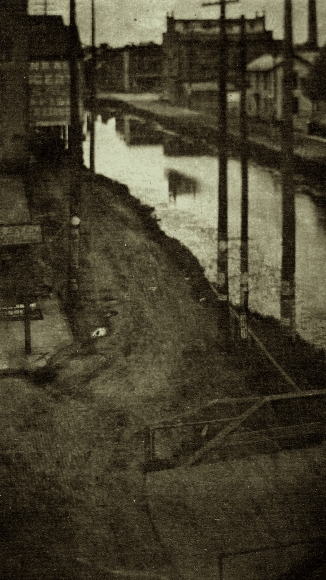 Clarence White - Telegraph Poles, 1903 - Howard Greenberg Gallery