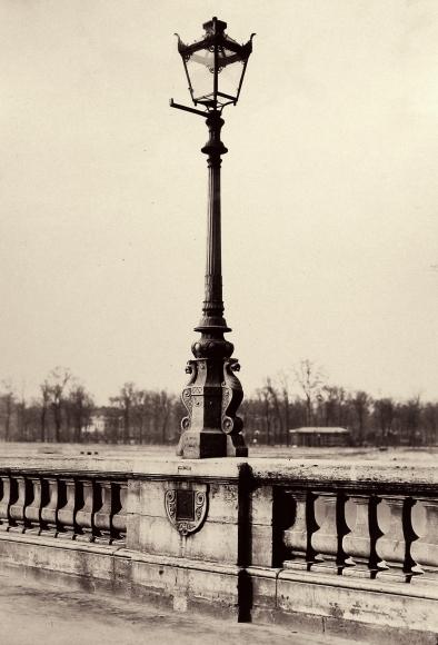 Charles Marville - Candelabre du pont de la Concorde, c.1865 - Howard Greenberg Gallery
