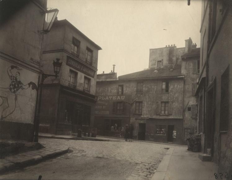 Eugene Atget - Rue de Saules - Howard Greenberg Gallery