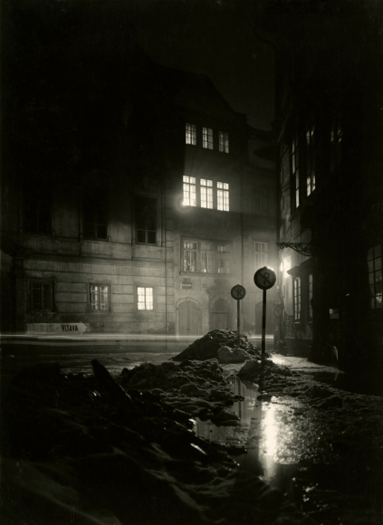 Josef Sudek - Night, Prague, 1956 - Howard Greenberg Gallery