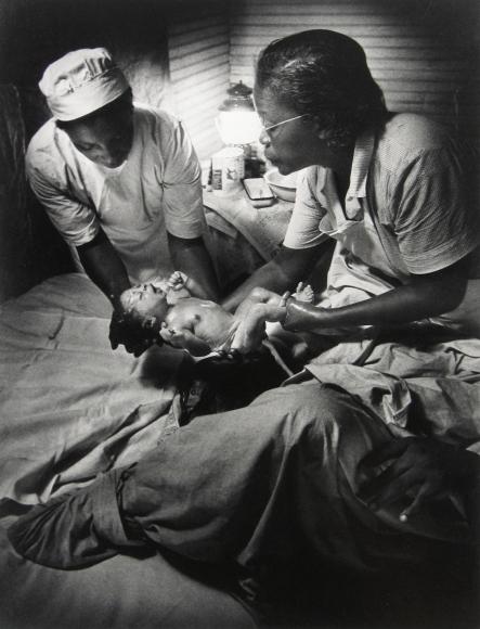 W. Eugene Smith - From Nurse Midwife, 1951 - Howard Greenberg Gallery