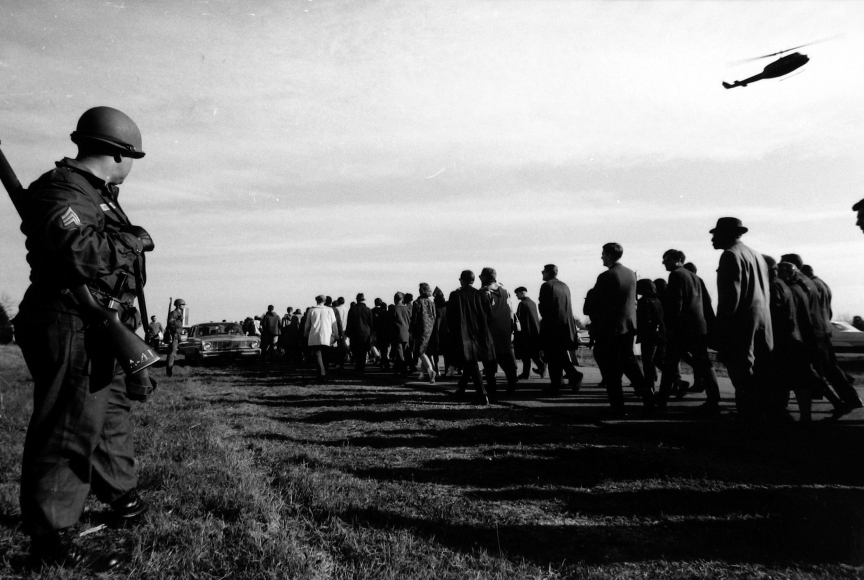 James Karales - Selma to Montgomery March, Alabama, 1965 - Howard Greenberg Gallery