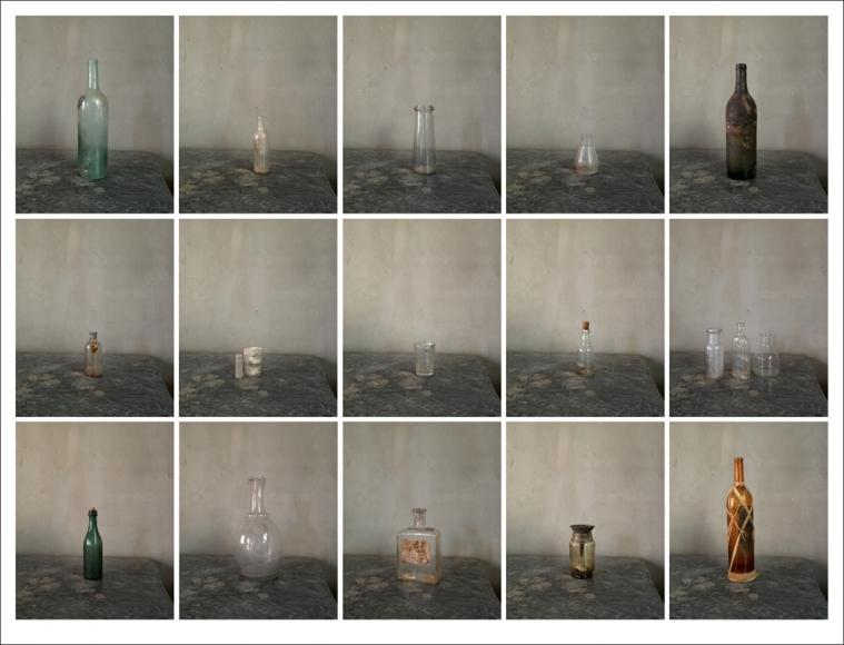 Joel Meyerowitz - Cezanne's Studio, 2013 - Howard Greenberg Gallery
