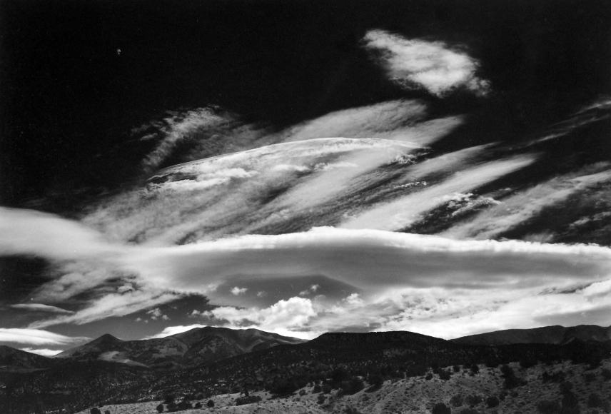 Minor White - Henry Mountains, Utah, 1966 - Howard Greenberg Gallery